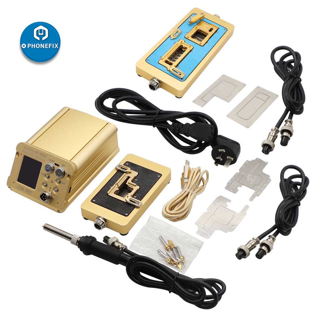 WL HT007 Intelligent Mainboard Layered Soldering Station for iPhone X Xs Max 11 Pro Max Logic Board Desoldering Rework Station
