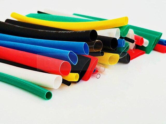 Rurka termokurczliwa 1 metr 2:1 czarny 1 2 3 5 6 8 10mm średnica rurka termokurczliwa złącze DIY naprawy rury owijka termokurczliwa do przewodu