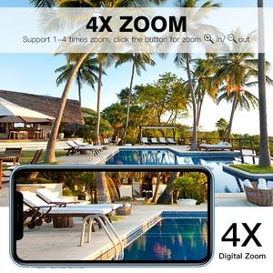 Image 5 - WakeView cámara Solar para exteriores HD 1080P 4G, Audio de vigilancia, seguridad para el hogar, wifi, resistente al agua, alarma PIR, aplicación móvil