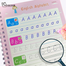 2021 Reusable Children Book Copybook For Calligraphy English Words Handwriting Practice Writing Book For Kids Toys Magic Books