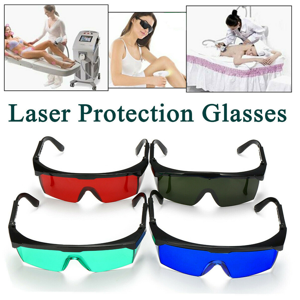 2019 Hot Lasers Protection Goggles Safety Spectacles Lightproof Protective Glasses High Quality Skin Care J3