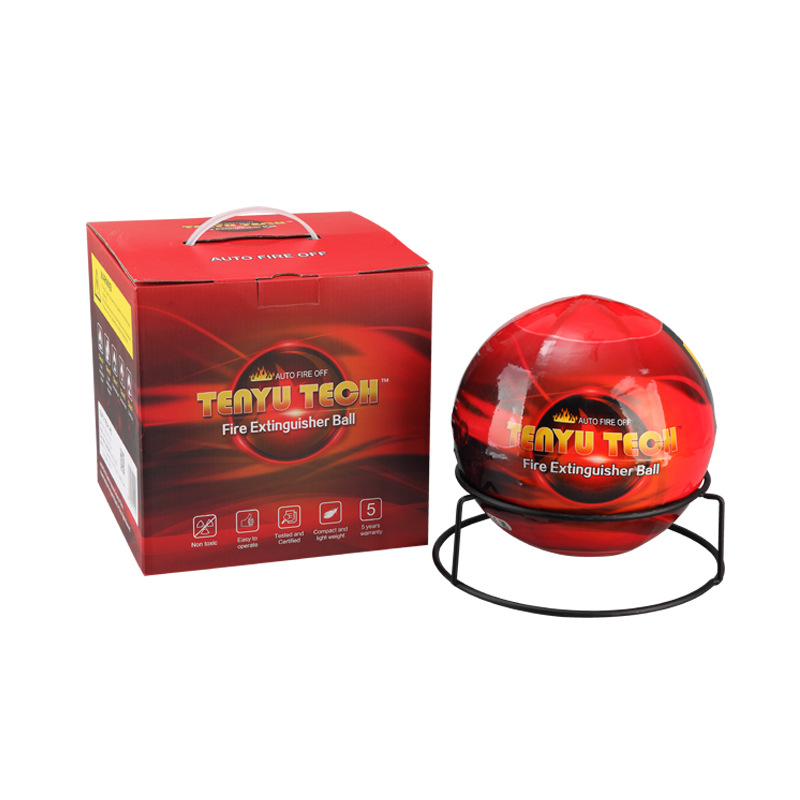 0.5KG/1.3KG Harmless Dry Powder Extinguisher Auto Fire Extinguishing Ball Easy Throw Stop Fire Loss Tool Kitchen Car Home Safety