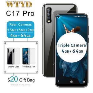 OUKITEL C17 Pro Triple Rear Camera 4G Mobile Phone 6.35