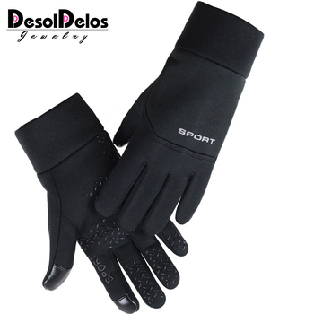 DesolDelos Windproof Cycling Gloves Men Women Touch Screen Sports Motorcycle Sport Gloves Full Finger Gloves Non-slip Luvas outdoor motorcycle sports gloves non slip cycling bicycle sport full finger gloves motocross black camouflage army green