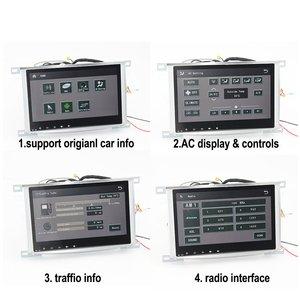 Image 2 - רכב אנדרואיד מולטימדיה נגן עבור טויוטה לנד קרוזר 100 2002 ~ 2007 רדיו אודיו ניווט BT HD מסך Carplay GPS מפות מערכת