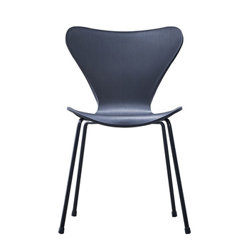 Nordic dining chair home simple modern plastic  thickened backrest  adult leisure  restaurant equivalent
