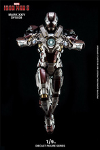1/9 MARK XXIV MK24 Tank Iron Man Alloy Diecast Series Figure Model Toys DFS038 for Collection Fans Gift