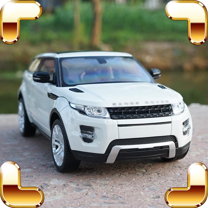 Cadeau de noël 1/24 RR métal modèle voiture Collection Simulation véhicule SUV alliage cadre échelle avec porte ouvrable statique moulé sous pression