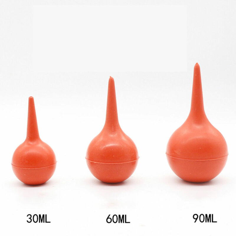 1PCS 30/60/90ML Useful Rubber Suction Ear Washing Syringe Squeeze Bulb Kids Ear Care Baby Care Tool