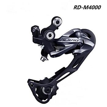 цена на RD M400 Rear Derailleurs Shadow System MTB Bike Accessory Mountain Bicycle Parts for 3x9S 27S Speed
