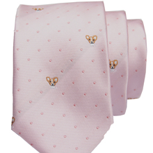 pink pattern tie with fashion patterned skinny ties men 2020