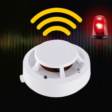 Smoke Detector Fire Alarm For Home Security System Fireman Smokehouse Combination Smoke Detector Alarm Sensor
