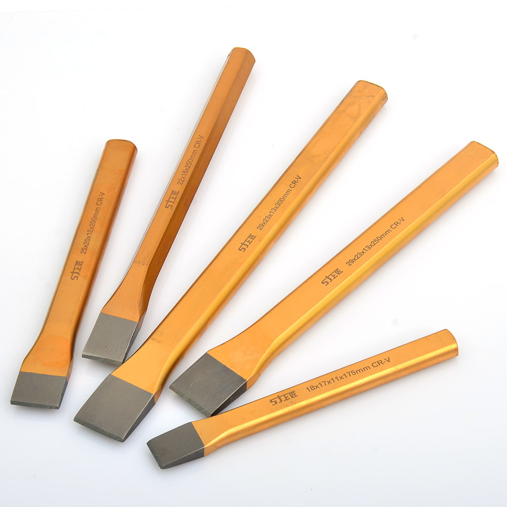Flat Chisel High Speed Steel Chisel Qian Gong Zao Stonecutter Chisel Alloy Steel Chisel Flat Chisel Tieping Chisel High Speed St