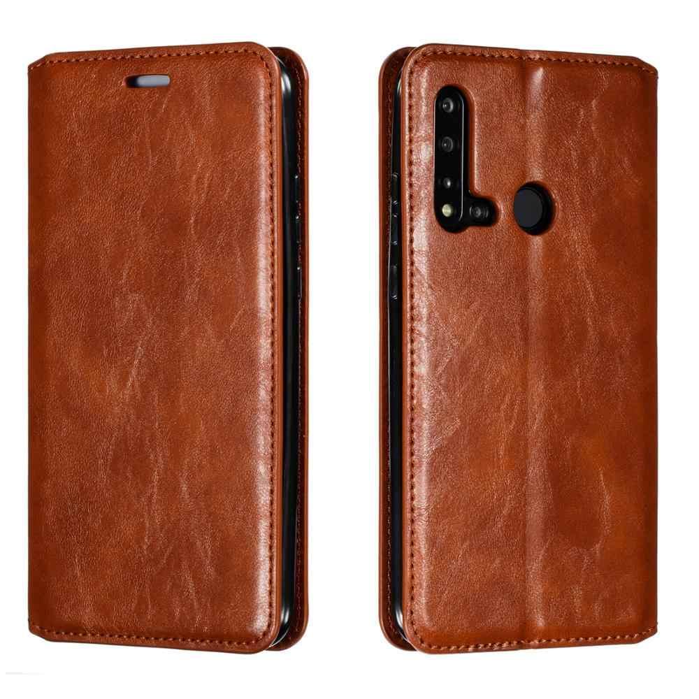 Di Cuoio magnetico Per Huawei P20 P30 Lite Pro P Smart Z 2019 Più Il Caso di Vibrazione Del Raccoglitore Del Basamento Della Copertura Del Telefono Mobile custodie