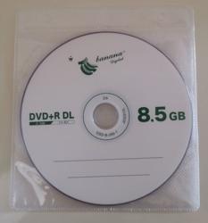 Опт DVD R DL 8,5 ГБ двухслойный D9 8X 240 мин 10 шт./лот Бесплатная доставка
