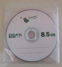 Venda por atacado dvd + r dl 8.5gb camada dupla d9 8x 240min 10 pçs/lote frete grátis