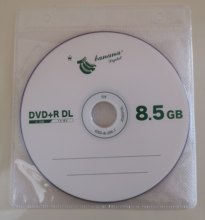 DVD + R DL 8,5 GB dual layer D9 8X 240min 10 шт./лот Бесплатная Доставка Оптом