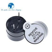 10 шт 12v активный зуммер Магнитный длинный непрерывный сигнал бипера сигнализации звонка 12 мм мини Активный пьезоэлектрические зуммеры подх...