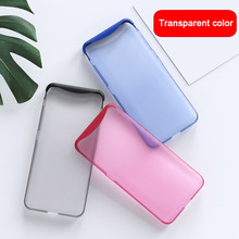GKK Fitted Case For Realme X 3 2 PRO C2 2IN1 Frosted Transparent Design Cover HUAWEI OPPO Find F11 Pro F9 A7 A5 K1 K3