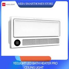 2019 Xiaomi Yeelight inteligente 8 en 1 LED calentador de baño Pro Luz de Techo Luz de baño para Mihome aplicación remota Control para Baño