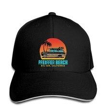 Pfeiffer – casquette de plage en bois, grande Sur, californie, rétro, chapeau à visière