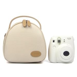 Image 4 - بو الجلود تحمل حقيبة للتخزين الحقيبة ل بولارويد Fujifilm Instax Mini 9 8 8 + 7S 25 50S 70 90 كاميرا عالمية واقية حقيبة