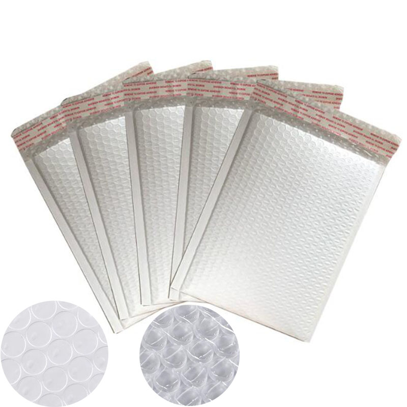 10 Pcs / Hand, High Quality White Foam Envelope Bag All Specifications Postal Sender Envelope Stationery Bubble Bag On Sale