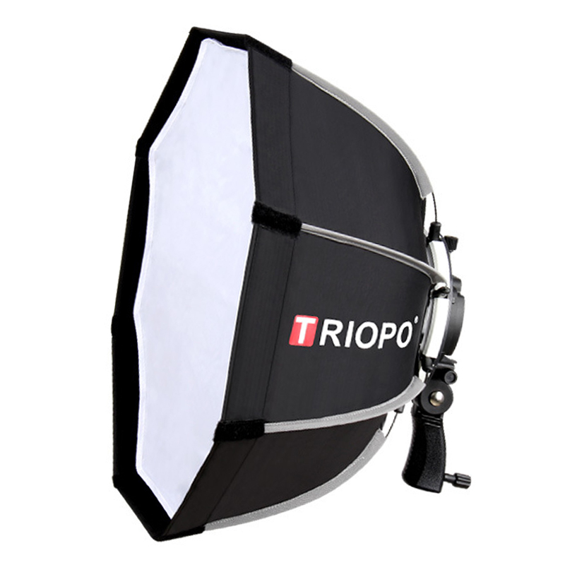 TRIOPO 55cm Portable Outdoor Octagon Umbrella Flash Softbox Speedlite Soft Box For Godox AD200 Flashlight Yongnuo YN685 YN560IV
