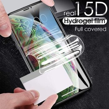 Перейти на Алиэкспресс и купить Для Vernee V2 PRO Гидрогелевая пленка переднее Защитное стекло для экрана прозрачная для Vernee V2PRO