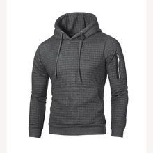 2019 Sweater Men Solid Pullovers New Fashion Men Casual Hooded Sweater Autumn Winter Warm Femme Men Clothes Slim Fit Jumpers(China)