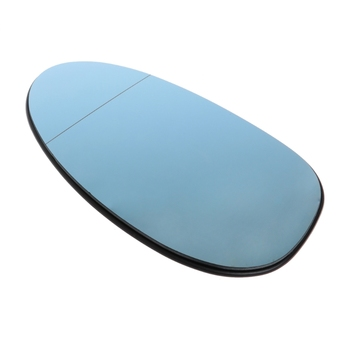 Blue Rearview Mirror Glass Right Co-pilot Side Heatable Lens For BMW 3Series E90 E7CA image