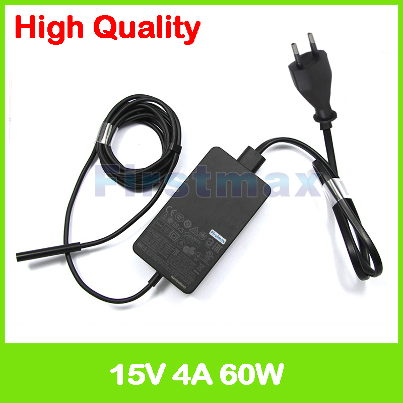 <font><b>15V</b></font> <font><b>4A</b></font> 65W AC <font><b>Adapter</b></font> tablet pc charger 1706 for Microsoft Surface Pro 3 4 1631 1724 Surface Book Core i5 Model 1705 image