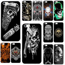 Hot Sale Tribal Skull Soft Silicone TPU Phone Cover Case for iPhone X XR XS Max 8 7 Plus 6 6S Plus 5 5S SE 5C 4S Shell(China)