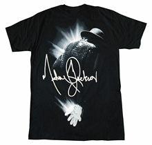 Michael jackson fulgor t camisa nova marca oficial t camisa marcas camisas