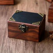 Antique Vintage Retro Notebook Suitcase Wooden Jewelry Box Latch Hasp Lock Catch