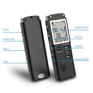 Image 5 - VR510 8 GB/16 GB/32 GB 보이스 레코더 USB Professional 96 시간 딕 터폰 WAV, MP3 플레이어가 장착 된 디지털 오디오 보이스 레코더
