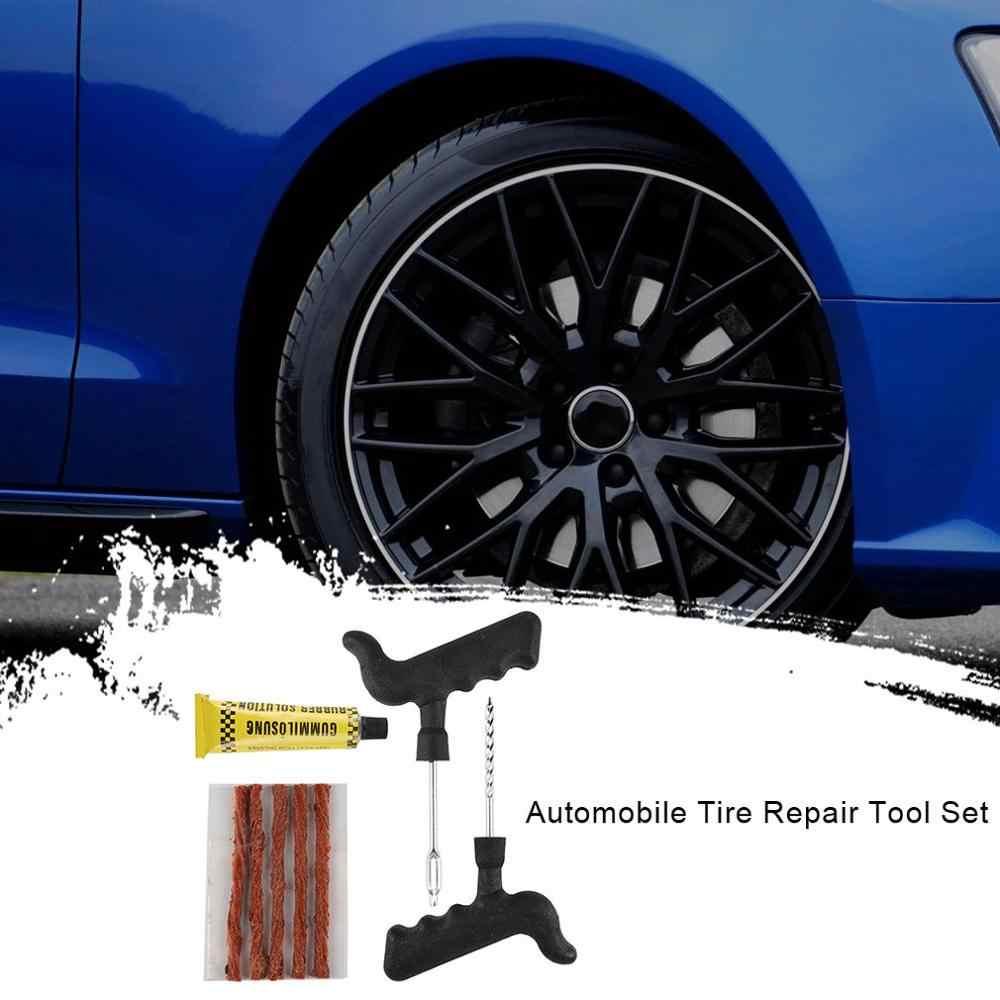 Otomotiv lastik tamir takımları pratik vakum lastikleri motosiklet hızlı lastik tamir şeritleri 6 adet onarım araçları