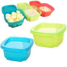 Чашка для хранения, коробка для кормления фруктов, закусок, портативный детский горшок для кормления грудью, контейнер для хранения детского питания, мини 3 цвета