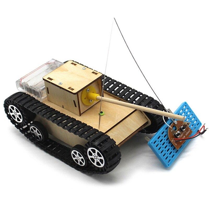 Bricolage intelligent RC Robot réservoir vapeur contrôle électrique Kit éducatif Robot jouet
