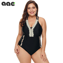 Sexy Plus Size Swimwear Women 2020 One Piece Swimsuit Black Retro Swimming Wear for Bathing Suits Monokini Maillot De Bain Femme 5xl patchwork swimwear women 2018 top sexy one piece swimsuit maillot de bain femme bodysuit monokini bathing suit maio zaful