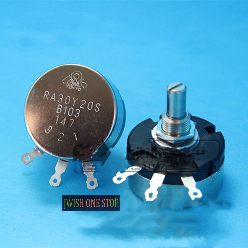 RA30Y20S 2,5 Вт B103 10k ком потенциометр обмотка круга