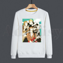 Given Anime Given Yaoi Japanese Manga Mafuyu Music Hoodies Sweatshirt Print Trend Mens Clothing Hip-Hop Male Crewneck Hoodies Men
