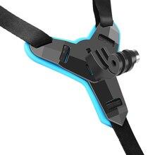 Подбородок для шлема на все лицо держатель для камеры GoPro Hero 8 6 5 SJCAM подбородок для мотоциклетного шлема аксессуары для камеры GoPro Hero 8