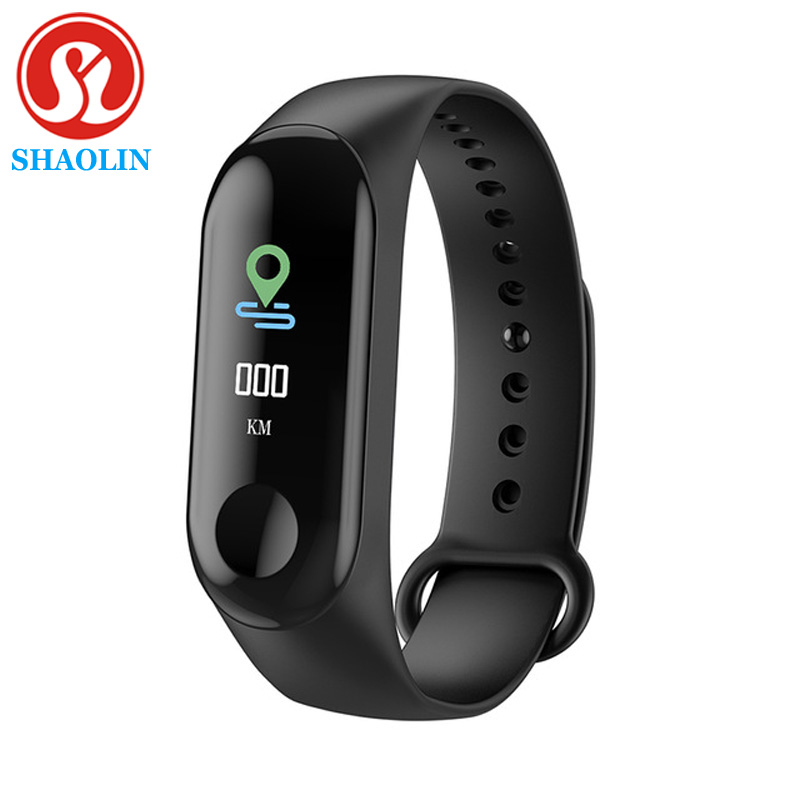 SHAOLIN Smart Watch Band Trcker Sport Pedometer Heart Rate Blood Pressure Bluetooth Health Wirstband for apple Android