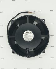 Kostenloser versand Original Deutschland ebm papst 20cm W1G180 AB31 01 24V 4,3 EINE 93W ultra high speed aluminium rahmen lüfter