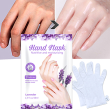 PUTIMI 6pcs=3packs Lavender Essence Hand Mask Exfoliating Dead Skin Remove Whien