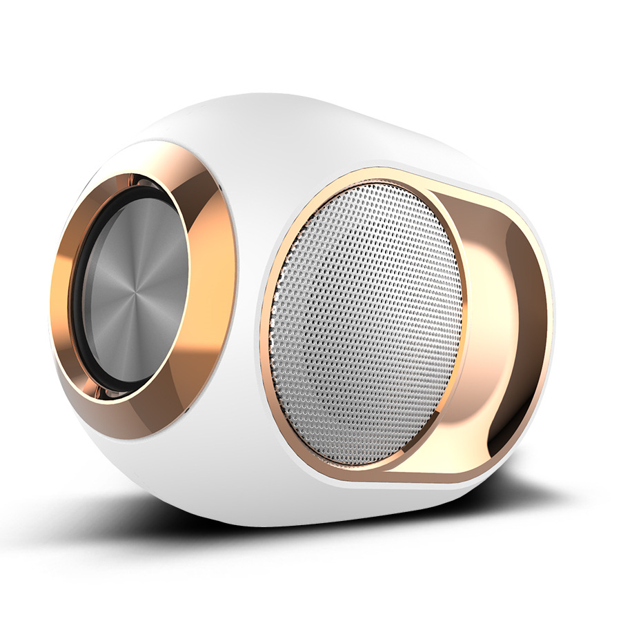 Stylish portable high-end Bluetooth speaker good quality audio wireless dual speakers 2