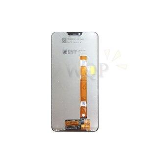 """Image 2 - עבור oppo A5 LCD תצוגת מסך מגע digitizer עצרת עם מסגרת עבור oppo AX5 מסך החלפת חלקי תיקון 6.2"""""""