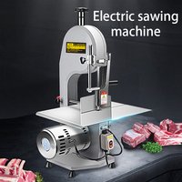 Commercial desktop saw bone machine cutting ribs meat slicer electric bone cutting machine pig's hoof frozen fish factory direct