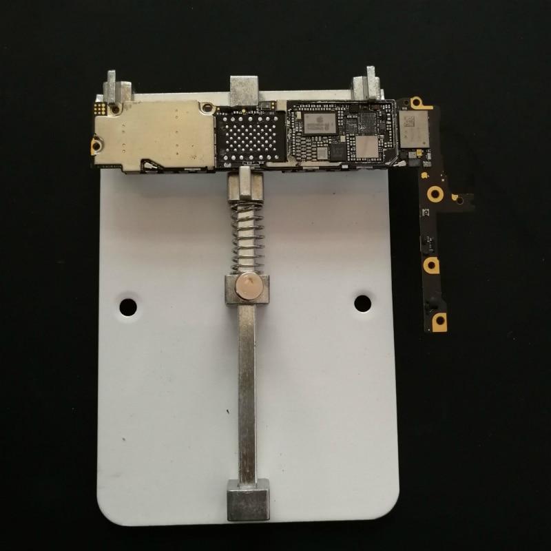 Купить с кэшбэком Mobile Phone Motherboard Soldering Repair Fixture PCB Fixture Holder For iPhone Samsung Mainboard Soldering Repair Tool